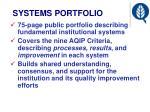 systems portfolio