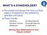 what s a stakeholder