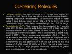 co bearing molecules