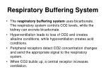 respiratory buffering system