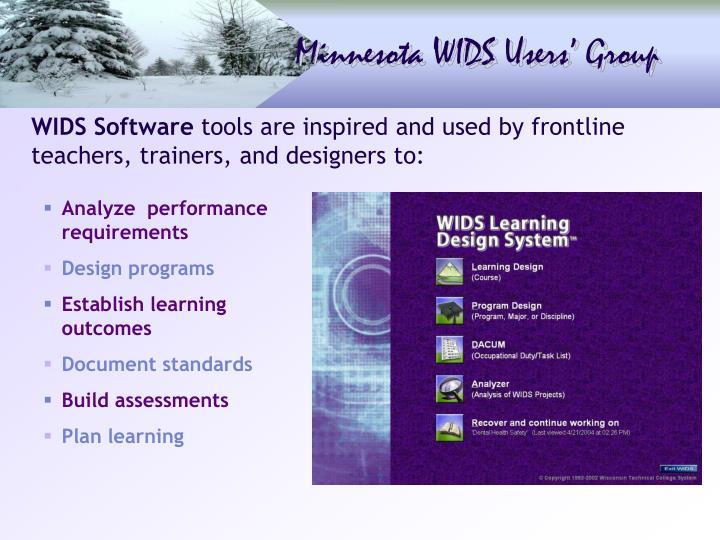 WIDS Software