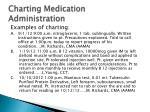 charting medication administration