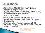 epinephrine