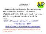 exercise i3