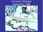 hurricane georges september 1998