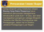 persyaratan umum ekspor1