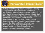 persyaratan umum ekspor2