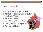 contractor qc12