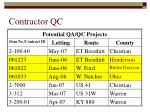 contractor qc14