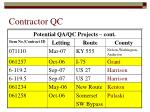 contractor qc15