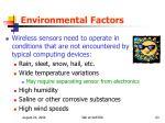environmental factors