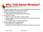 why talk about wireless