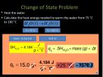 change of state problem1