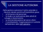 la gestione autonoma1