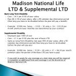 madison national life ltd supplemental ltd