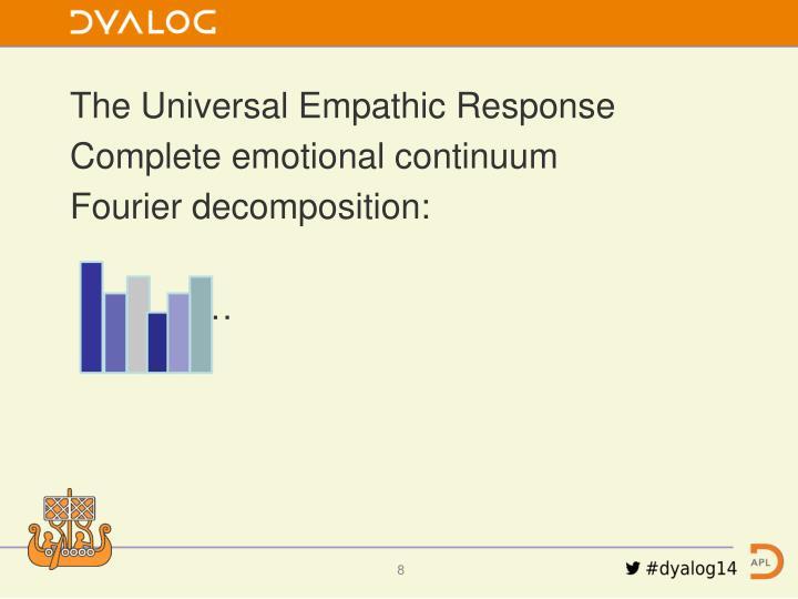 The Universal Empathic Response