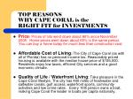 top reasons why cape coral is the right fit for investments1