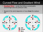 curved flow and gradient wind
