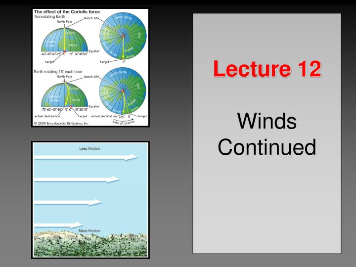 lecture 12 winds continued n.