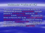 molecular profile of hcl