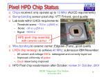 pixel hpd chip status