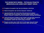 the inventor s wheel petunjuk praktis menghasilkan uang dari smart ideas