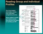 reading group and individual profiles2