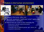 robots in the human environment