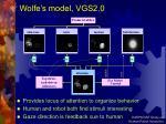 wolfe s model vgs2 0