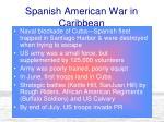 spanish american war in caribbean