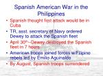 spanish american war in the philippines