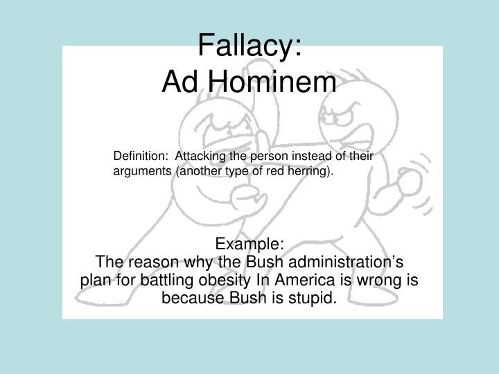 Fallacies Examples Acurnamedia