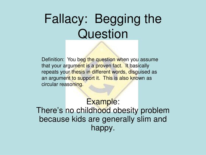 Ppt Logical Fallacies Powerpoint Presentation Id5633085