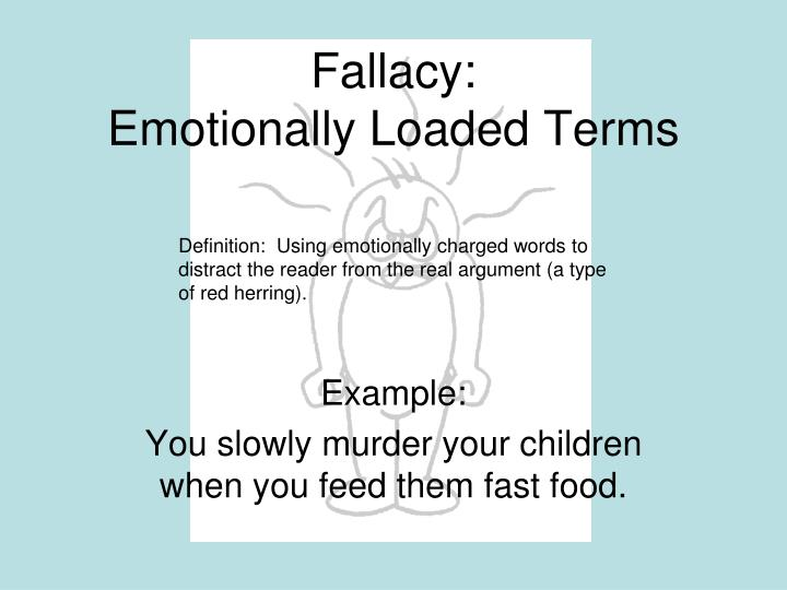 emotional argument examples