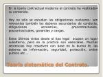 teor a sistem tica del contrato1