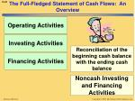 the full fledged statement of cash flows an overview1