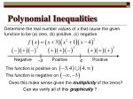 polynomial inequalities3