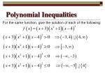polynomial inequalities4