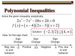 polynomial inequalities8