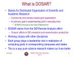 what is dosar