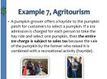 example 7 agritourism