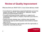 review of quality improvement2