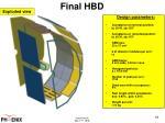 final hbd