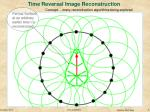 time reversal image reconstruction
