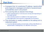 port scan