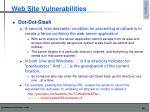 web site vulnerabilities4