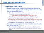 web site vulnerabilities5