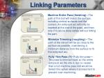 linking parameters11