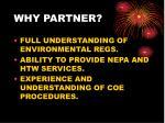 why partner