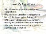 lawlor s algorithms1